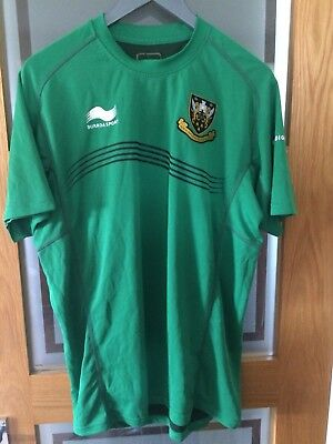Northampton Saints Rugby Training Shirt Player Issue Size XL