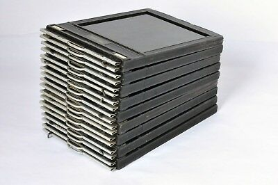 9 Lisco 4 X 5 CUT FILM HOLDERS EXCELLENT IN GOOD WORKING ORDER
