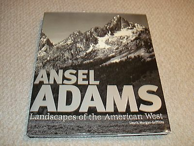Ansel Adams Landscapes of the American West Large coffee table book Griffiths