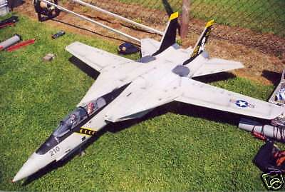 TWIN EDF SCALE Grumman F-14 Tomcat Plans, Templates and Instructions 57ws