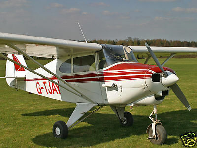1/5 Scale Piper PA-22 Tri-Pacer Plans and Templates 70ws