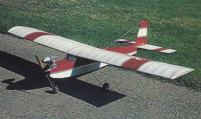 Vintage RCM Twin Trainer Sport Plane Plans,Templates and Instructions 62ws