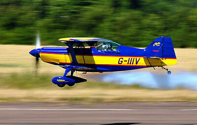 GIANT 1/3 SCALE Pitts Special Aerobatic Biplane Super Stinker Plans,Temp  75ws