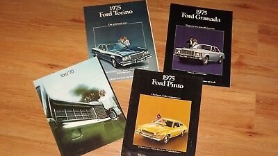 1970 and 1975 FORD DEALERSHIP SALES  BROCHURE LOT