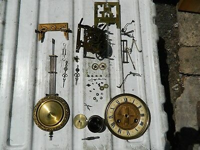 Vienna Clock Movement For Spares Or Repair