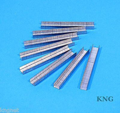 "1000 Rapesco Tacwise 8mm Staples Galvanised Type 53 Series 5/16"" Wood for Gun"