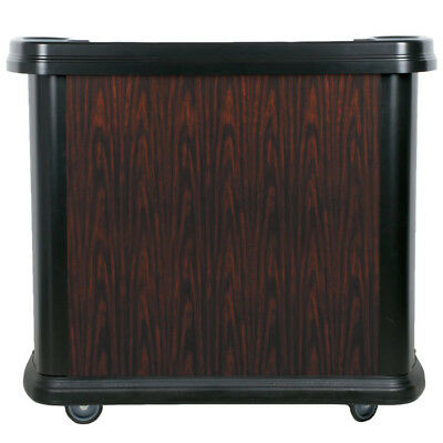 Carlisle Cherry Wood Maximizer Portable Bar