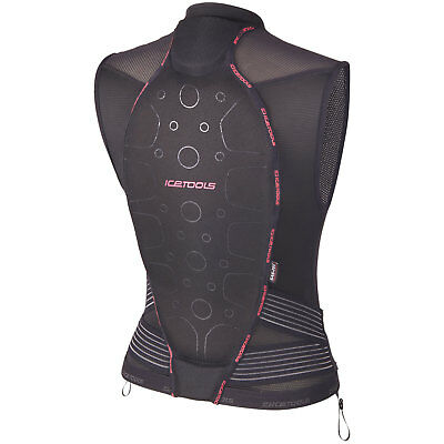 icetools S-Lite Lady Back Protector Vest SAS-TEC protektor-weste Mesh New Top
