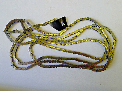 a) FUSEE CHAIN for Antique Bracket/Dial/Skeleton/Ships/Mantel Clock (parts)