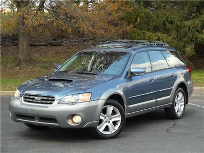 2005 Subaru Legacy OUTBACK XT LIMITED 1OWN LOW 87K MILES CLEAN CARFAX 2005 SUBARU LEGACY WAGON OUTBACK XT H4 LTD 1OWN 87K MILE CLEAN CARFAX NO RESERVE