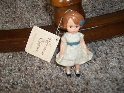 """Vintage Ike Sandy Spillman Homestead Collection  """"betsy"""" Ornament 1985"""