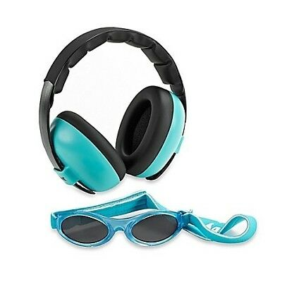 Baby Banz Earmuffs and Infant Hearing Protection & Sunglasses Combo 0-2 Years,