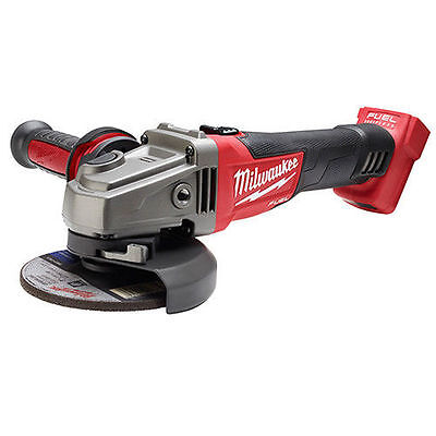 Milwaukee 2781-20 M18 4 1/2in/5in Grinder Slide Switch Lock-On (Tool Only)