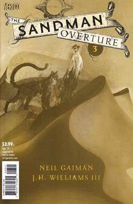 Sandman Overture #3 1/200 Variant B Neil Gainman Jh Williams Iii Vertigo Comics