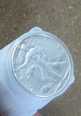 Roll (20 Coins) Walking Liberty Silver Halves.. Au/better