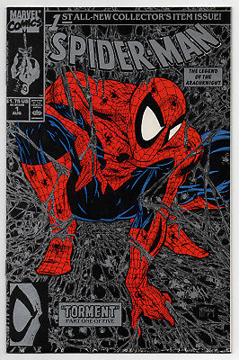 SPIDER-MAN #1 Silver Edition - 1990 - CGC Ready! - 9.6 OR BETTER