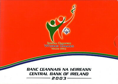 Irland KMS 2003 Special Olympics mit 5 euro Farbe