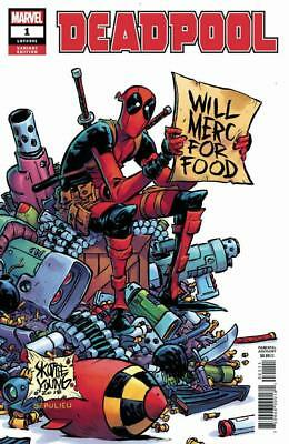 Deadpool #1 1/25 Variant Skottie Young Will Merc For Food Retailer Incentive