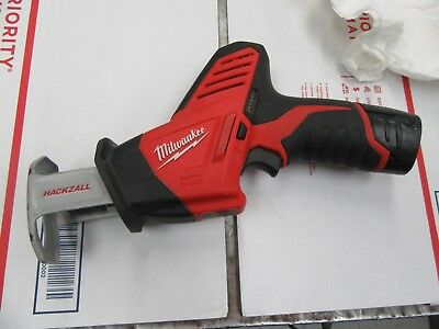 Milwaukee 2420-20 12v M12 Hackzall W/Battery (Tool Only)