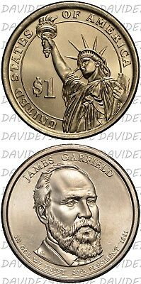 Stati Uniti Usa - 1 Dollaro  Presidenti 2011 - James Garfield - Zecca D