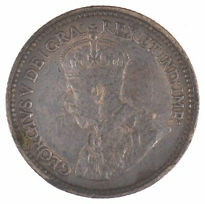 1912 New Foundland 5 Cents King George V *412