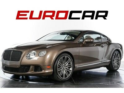 Continental GT Speed 2014 Bentley Continental GT Speed - RARE COLOR COMBO, CONVENIENCE PACKAGE