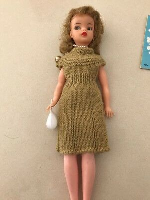 Vintage Reliable Tammy Doll Made In Canada With Booklet And Clothing Etc