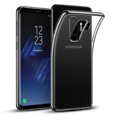 Samsung Galaxy S8 S7 S6 edge Case Ultra Slim Hülle TPU Transparent Silikon Neu