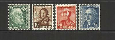 Switzerland ~ 1942  Pro Juventute Children Charity Stamps