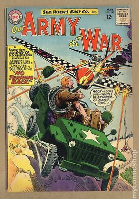Our Army at War #140 1964 VG- 3.5