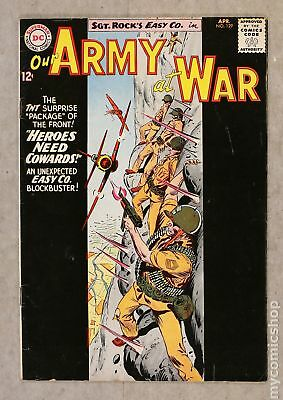 Our Army at War #129 1963 VG- 3.5