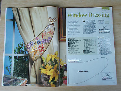 Needlecraft #22~Cross Stitch~Embroidery~Needlepoint~Cot Quilt~Needle Lace~1993