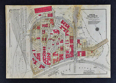 1934 Bromley New York City Map - Marble Hill - Van Colear Adrian Broadway 228th