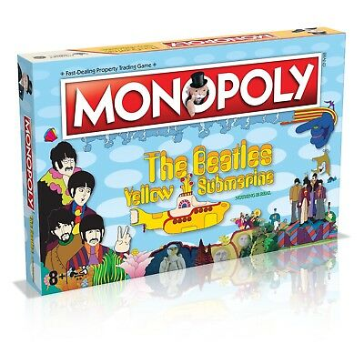 The Beatles Yellow Submarine Monopoly - 50th Anniversary Edition