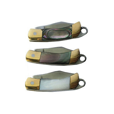 Fashion Shell Handle Mini Pocket Folding Knife Outdoor Camping Survival Tool Hot