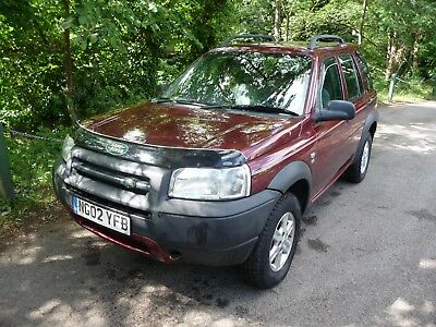2002 Land Rover freelander TD4 GS - Part Exchange to clear