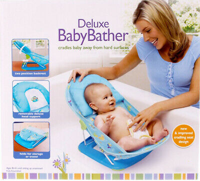 Joymaker Travel/Portable Baby Bather Splash 2-Position Backrest Recline