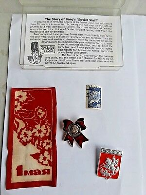 Barqs Soviet 1992 stuff with package