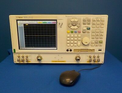 Agilent E8358A w/ Option 015 PNA Network Analyzer, 300 kHz - 9 GHz
