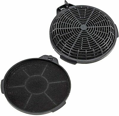 2 x Oven Cooker Hood Recirculation Carbon Filters for CLGH90-C CGK60SS CHK60SSR1