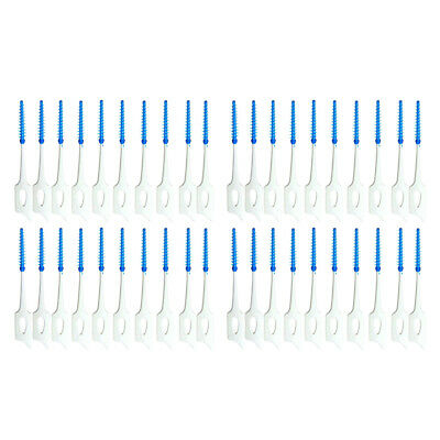 40x Brosse Cure Dents Brossette Interdentaires Dentaire Nettoyage Soins Dents NF