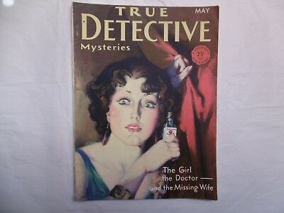 'True Detective Mysteries' May 1930.