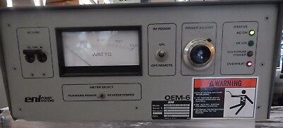 ^^ Eni Model Oem-6Am-1B-21251 Rf Power Generator-  (#1482)