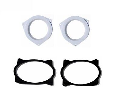 Aftermarket Speaker Adapter Plates Front And Rear Door Pack Install Fits Toyota
