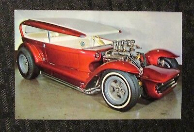 "LIL COFFIN 3.5x5.5"" Monogram Promo Card VF 8.0 Dave Stuckey Custom Car"