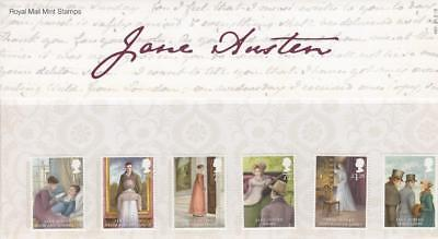 GB 2013 JANE AUSTEN PRESENTATION PACK No 481 MINT STAMP SET SG 3431-3436 # 481
