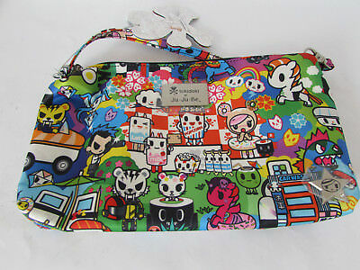 Jujube Ju Ju Be Tokidoki Be Quick wristlet diaper hand bag Sushi Cars G