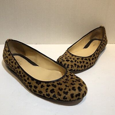 0a757ef59f9b COLE HAAN WOMENS cheetah loafer flat slip on shoes size 9 - $19.99 ...