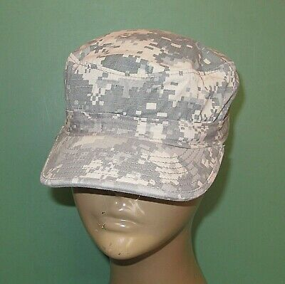29f6374e0cb US Military Issue Army Combat Uniform ACU Camouflage Patrol Hat Cap Size 6-7