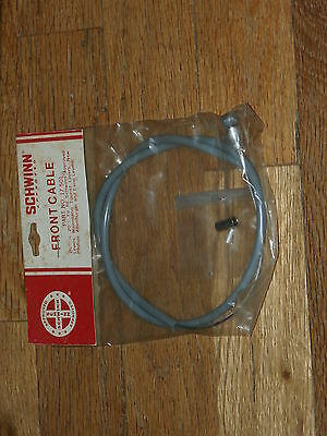 """Nos Vintage Schwinn Approved Front Cable 26""""x 20""""  Part No. 17 - 501"""